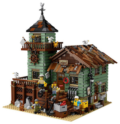 LEGO Ideas - 21310 Antigua Tienda de Pesca   Juego de construcción 2017   DETALLE JUGUETE