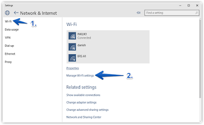 wi-fi sense settings windows 10