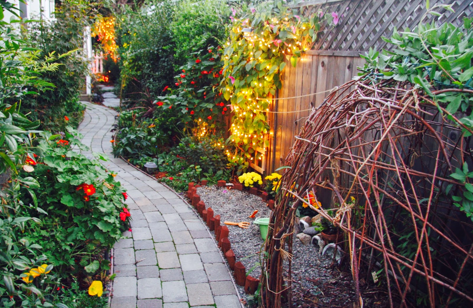 A Curving Path That Meanders Slowly Through Your Garden Is More Interesting  That A Straight One. So, Consider Curving Your Walkways.