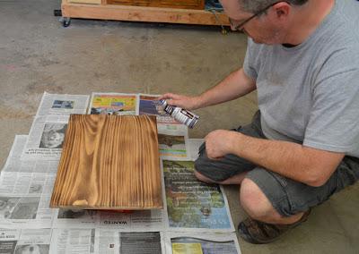 Applying Dreft Clear Wood Finish