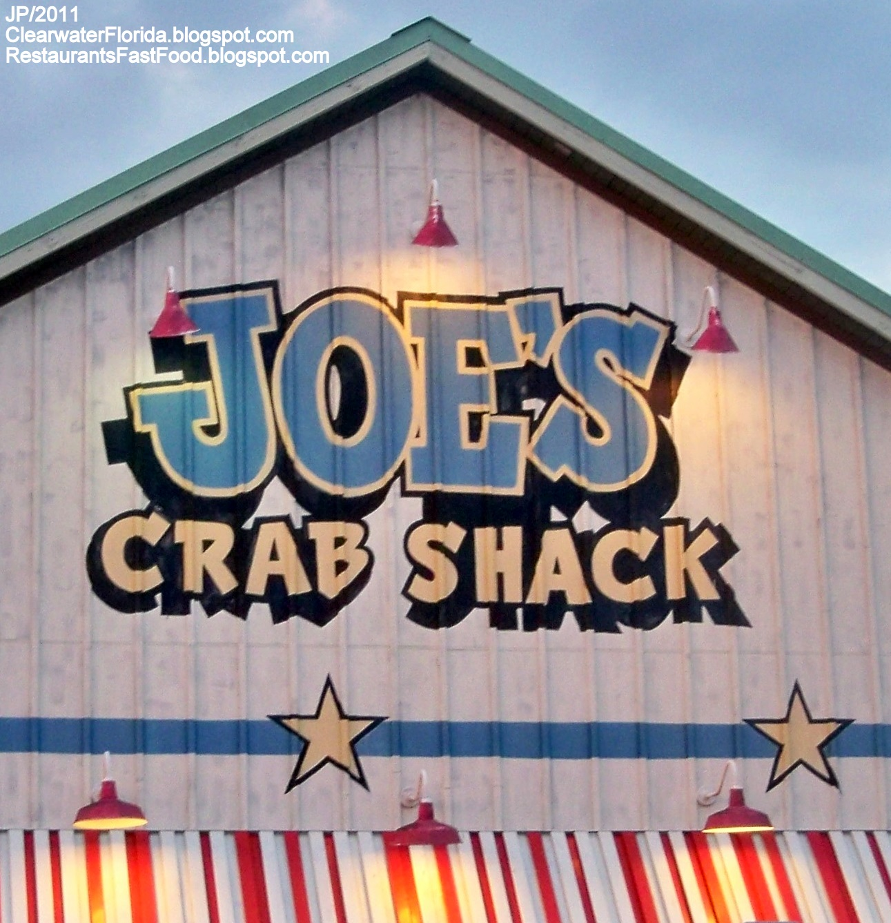 Joe S Crab Shack Clearwater Florida Seafood Restaurant Gulf To Bay Blvd Fl Pinellas County