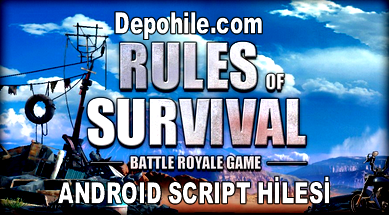 Rules of Survival Yeraltında Yürüme,Paraşüt Hile 2018 (Android)