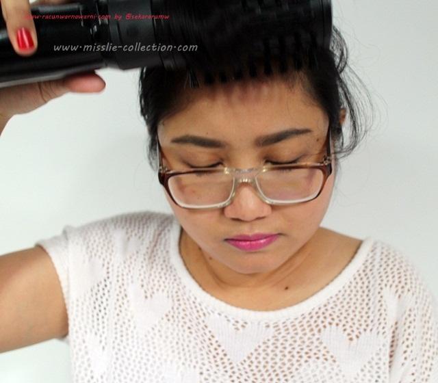 Proses Styling Rambut