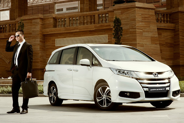 Honda Odyssey hoàn toàn mới được nhập khẩu trực tiếp từ Nhật Ban