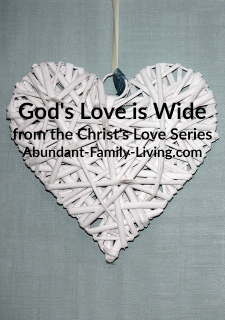 God's Love is Wide