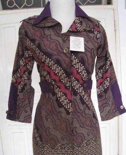 Desain Baju Batik Unik: 27+ Contoh Desain Baju Batik Terbaik 2020