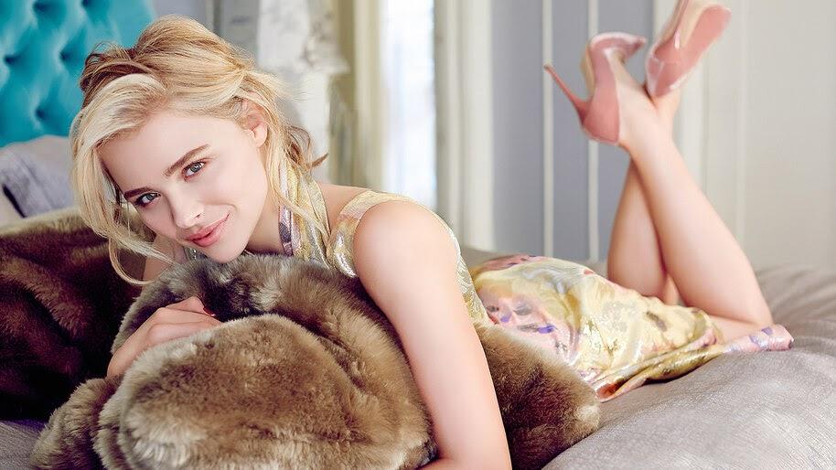 Chloe Grace Moretz, Beautiful, Blonde, Girl, 4K, #6.313