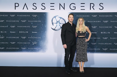 HQ PHOTOS: Jennifer Lawrence & Chris Pratt attend Passengers Press Conference in Berlin