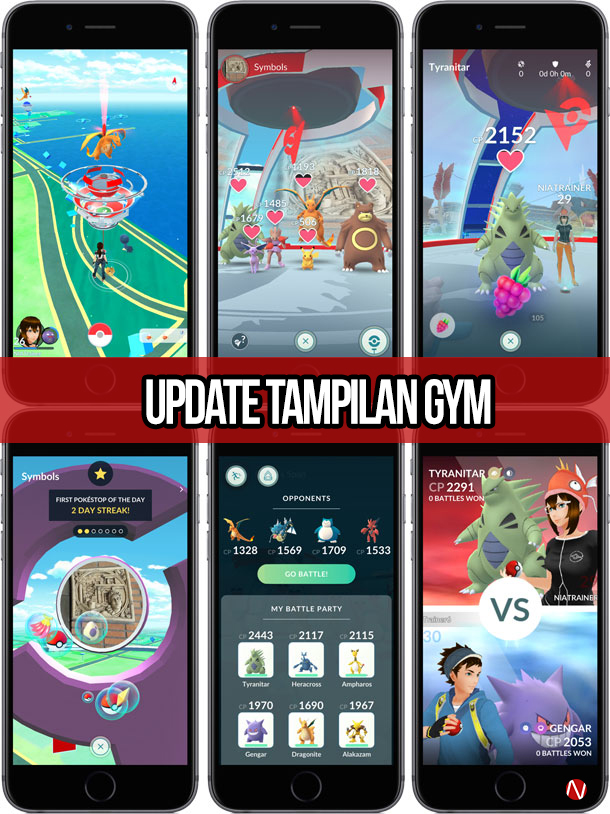 Update Tampilan Gym