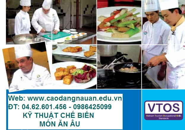 Kỹ thuật chế biến món ăn Âu [Tiêu chuẩn VTOS - www.caodangnauan.edu.vn]