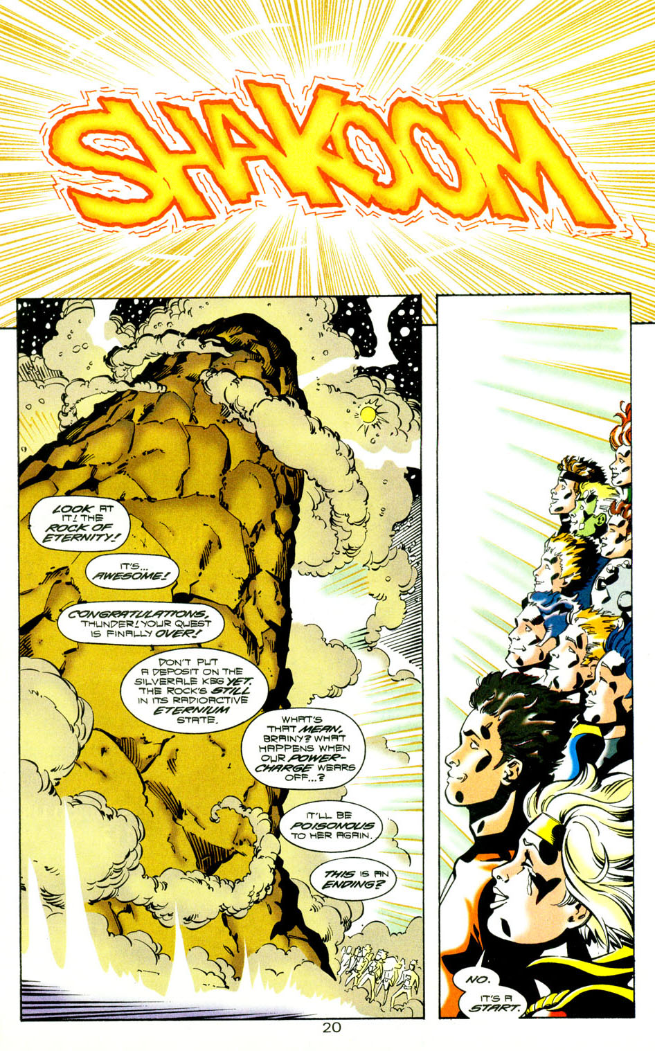 Legion of Super-Heroes (1989) 118 Page 21