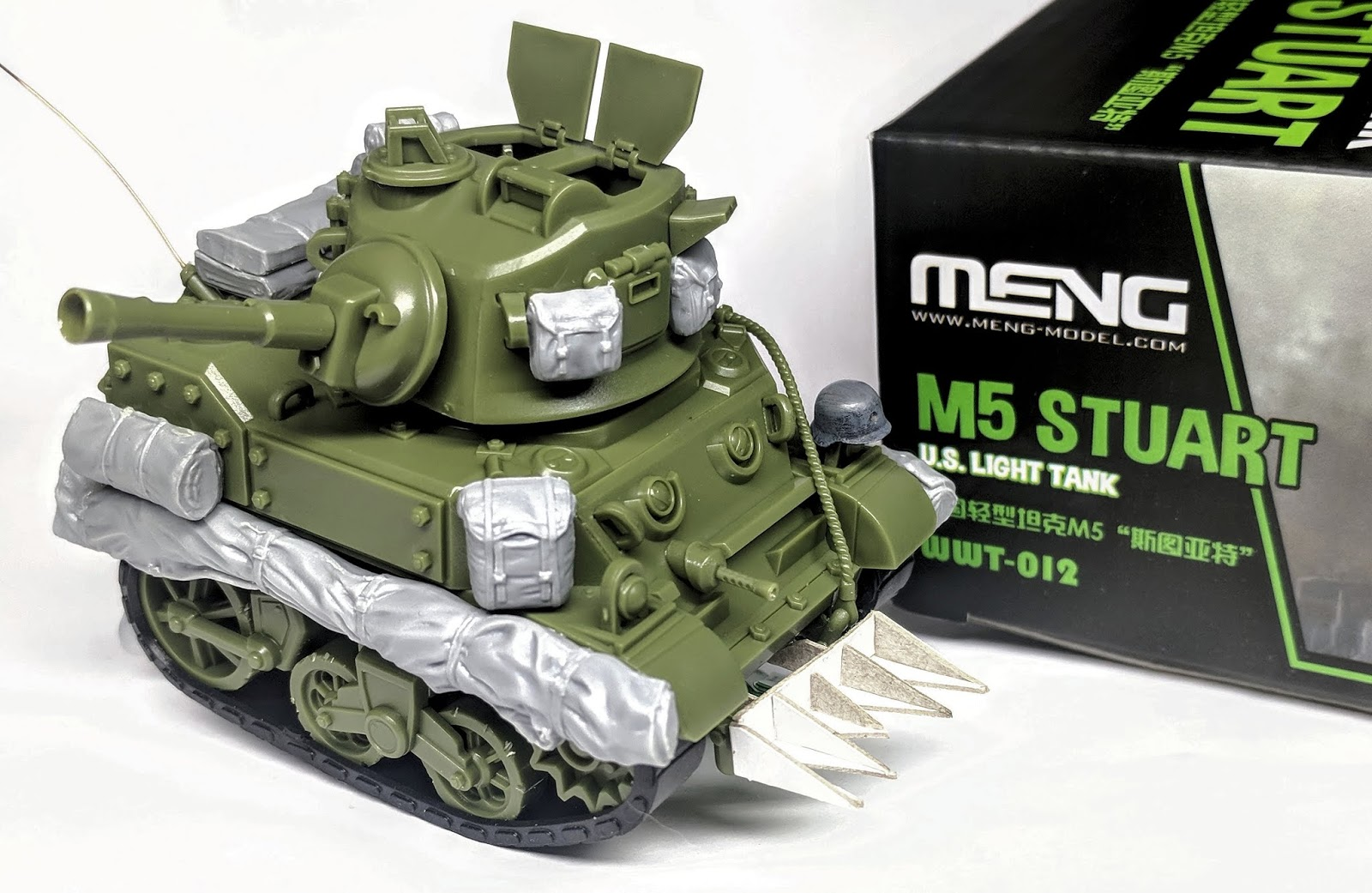 Build Guide (& pimping out) Meng's World War Toons M5 Stuart Light Tank