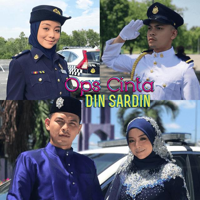 Drama OPs Cinta Din Sardin Lakonan  Mira Filzah, Izzue Islam