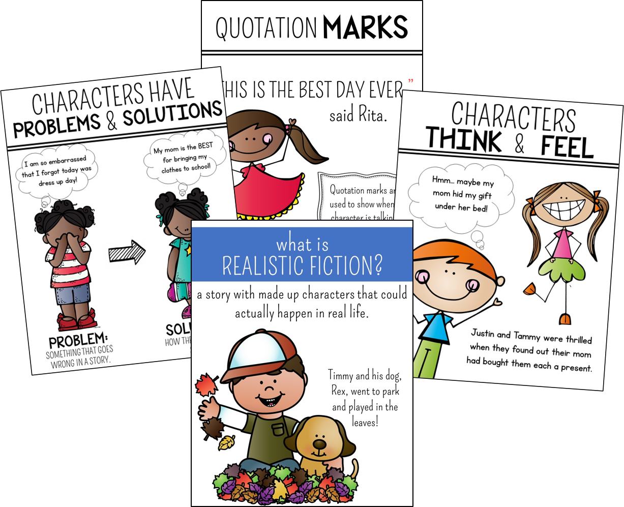 Writing Realistic Fiction In 1st And 2nd Grade