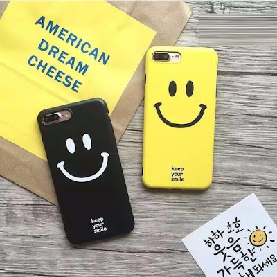 custom case smiley lucu