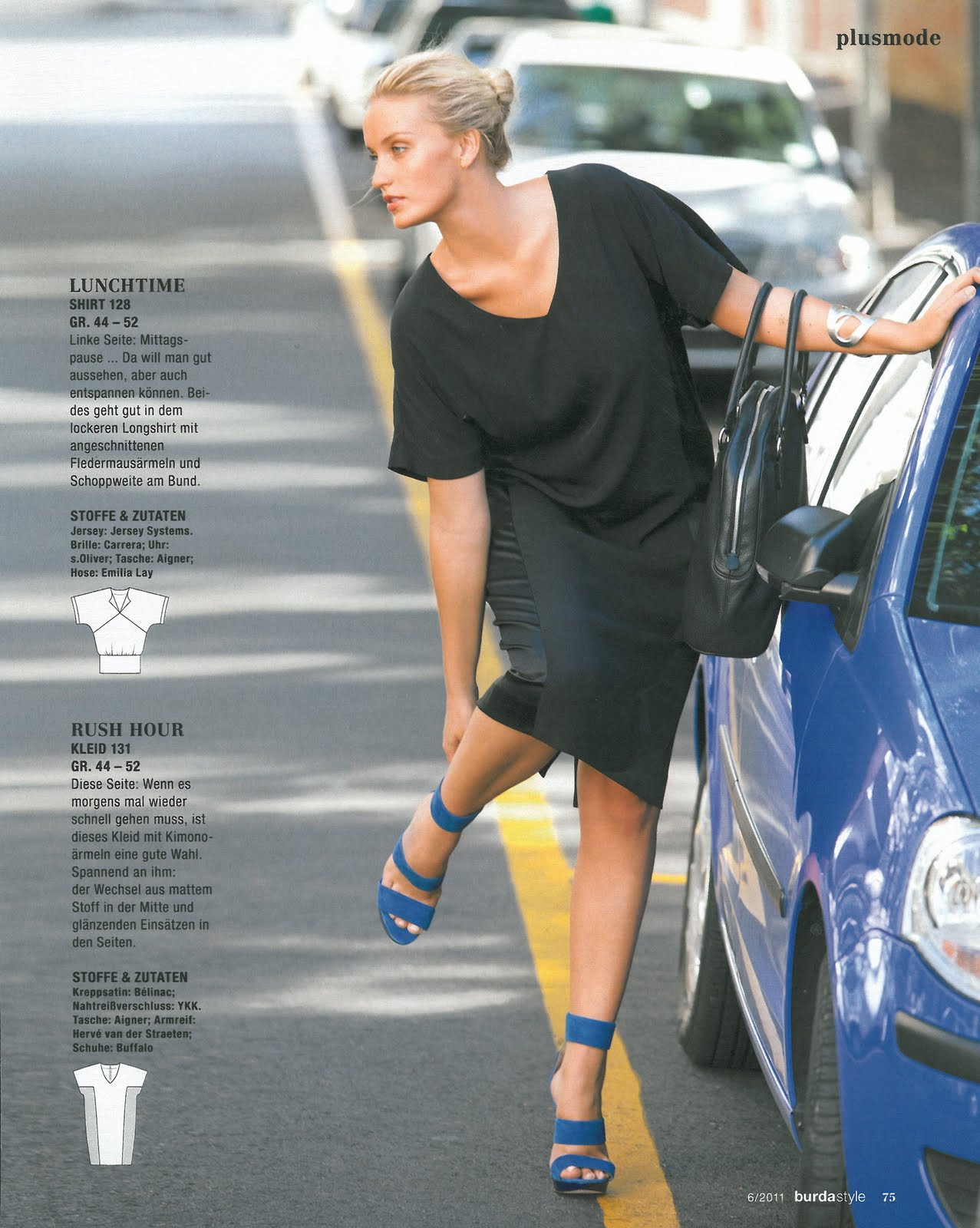 Faith Model Management Kirsten Looking Hot For Burda Magazine