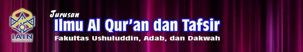 Ilmu Al-Qur'an dan Tafsir IAIN Batusangkar