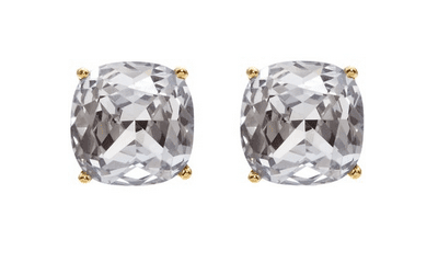 Kate Spade Solitaire Crystal Studs
