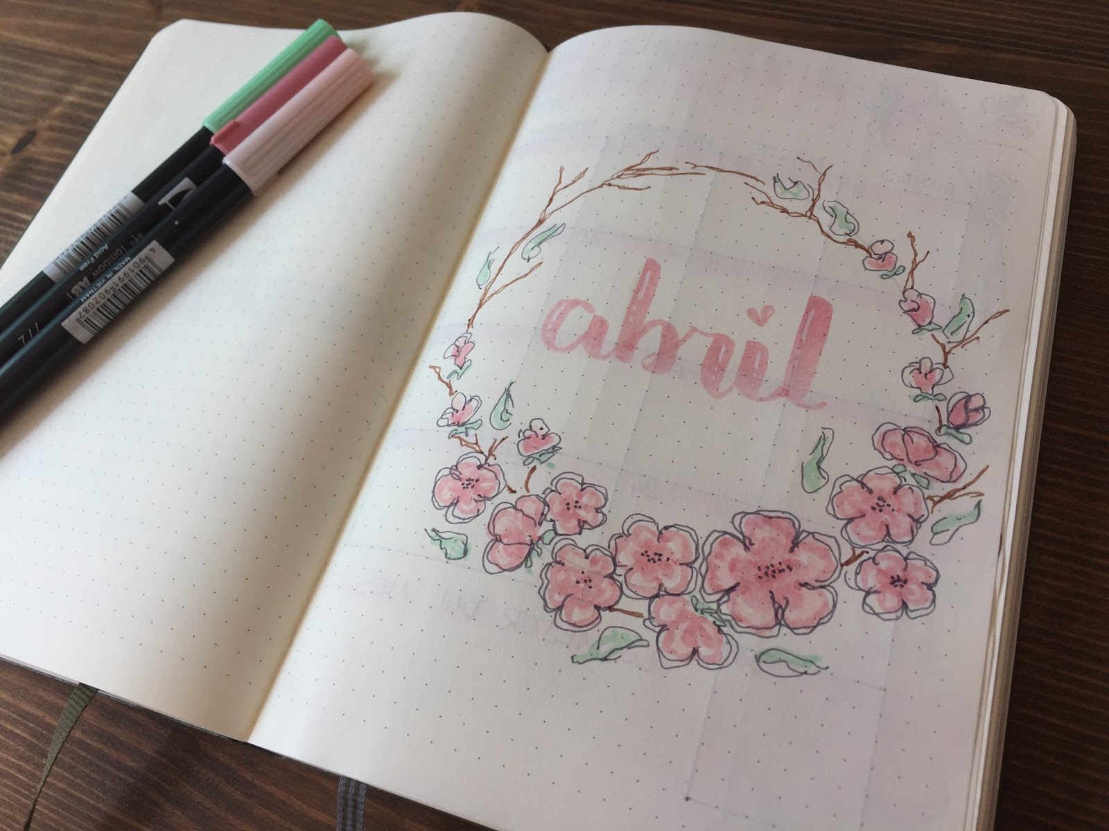 BULLET JOURNAL - ABRIL 2018