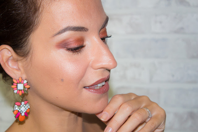 Heat & Glow (Make-up de soirée)