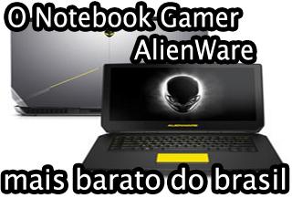 Notebook Gamer Dell AlienWare AW 15 é bom, compensa, vale a pena.