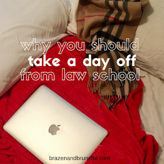 3 ways to have a lazy day when you can't study anymore | brazenandbrunette.com