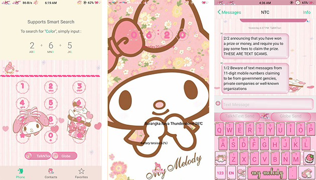 Oppo Theme: My Melody Theme