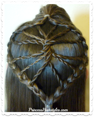 Unique hairstyle! The twisted wheel. Video tutorial.
