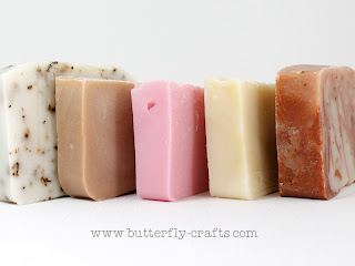 Natural Handmade Soap from Butterfly-crafts.com