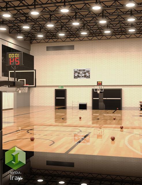 Basketball Practice Court