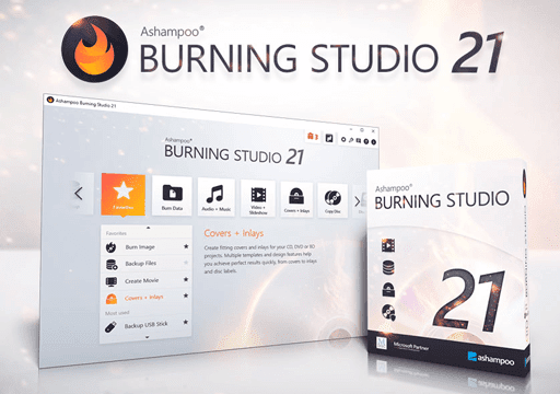 Ashampoo Burning Studio 21 Full