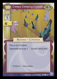 My Little Pony Creepy Creeping Crystals The Crystal Games CCG Card
