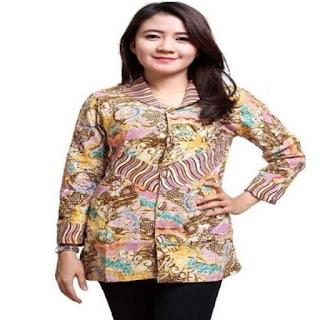 desain baju batik modern anak muda