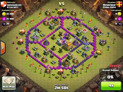 War Base TH 7 Terkuat Anti Naga
