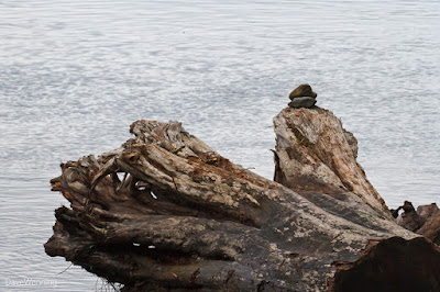 Cairns at Lighthouse Point, Deception Pass