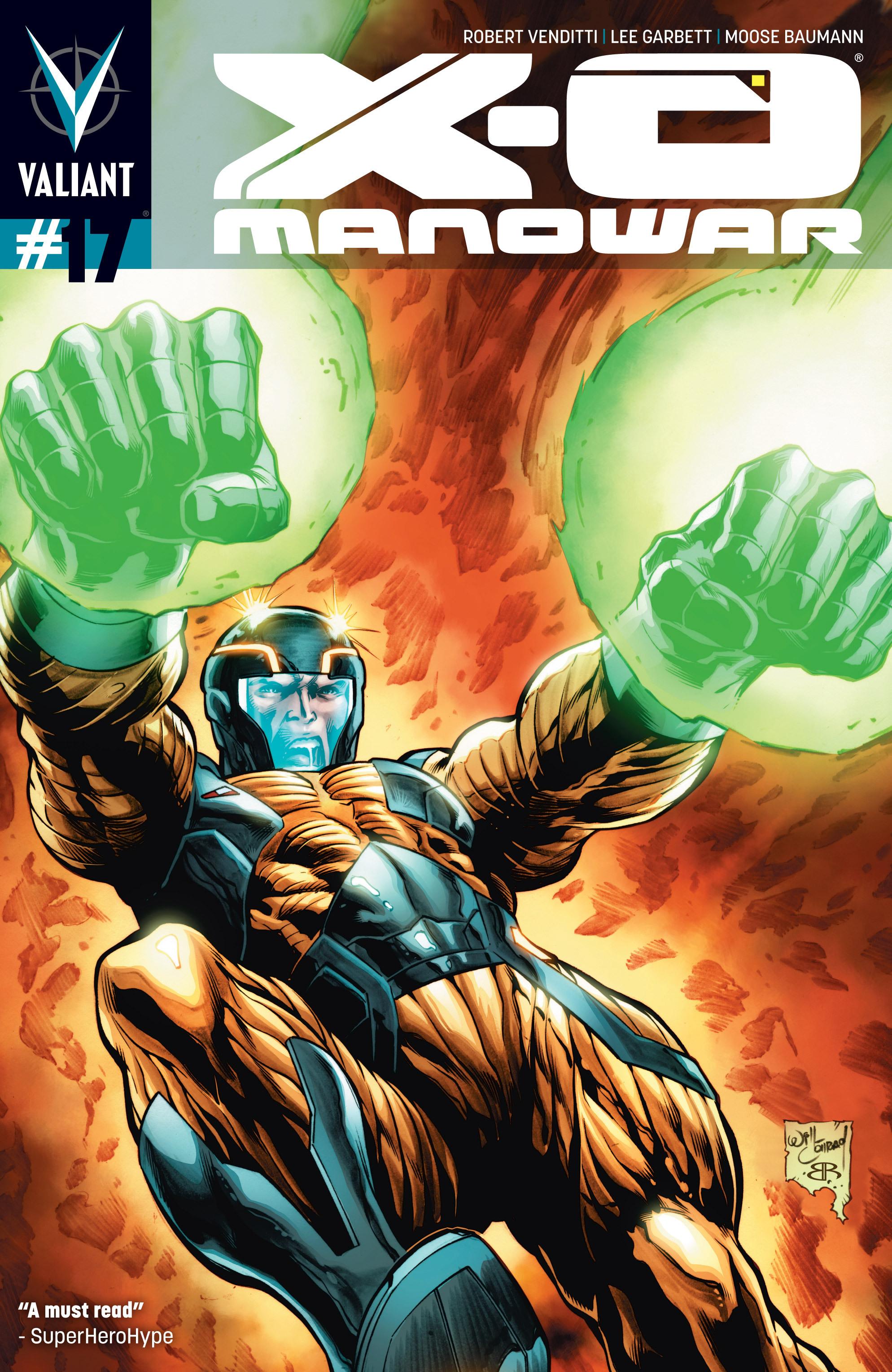 X-O Manowar (2012) 17 Page 1
