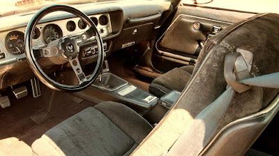 1978 Pontiac Macho Trans Am WS6 Turbo 400 Interior Cabin