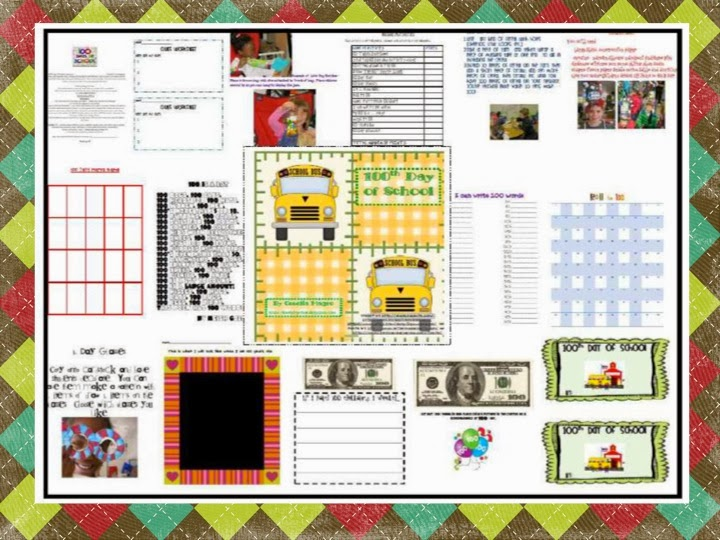 http://www.teacherspayteachers.com/Product/Hooray-for-the-100th-Day-of-School-109550