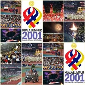 Malaysia di Sukan Sea 2001