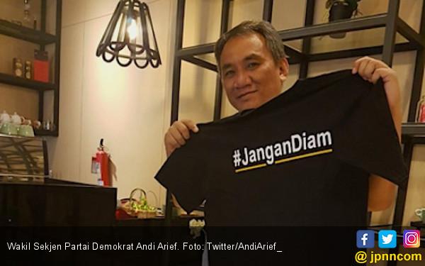 Kicau Andi Arief soal Prabowo Malas Bukan Pendapat Demokrat