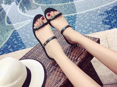model sepatu sandal jelly