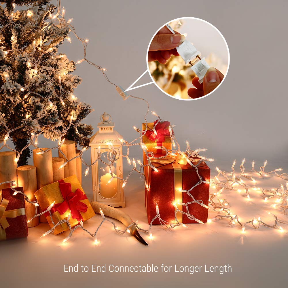Christmas Lights 300 Count 66ft Incandescent Mini | Snag The Deals