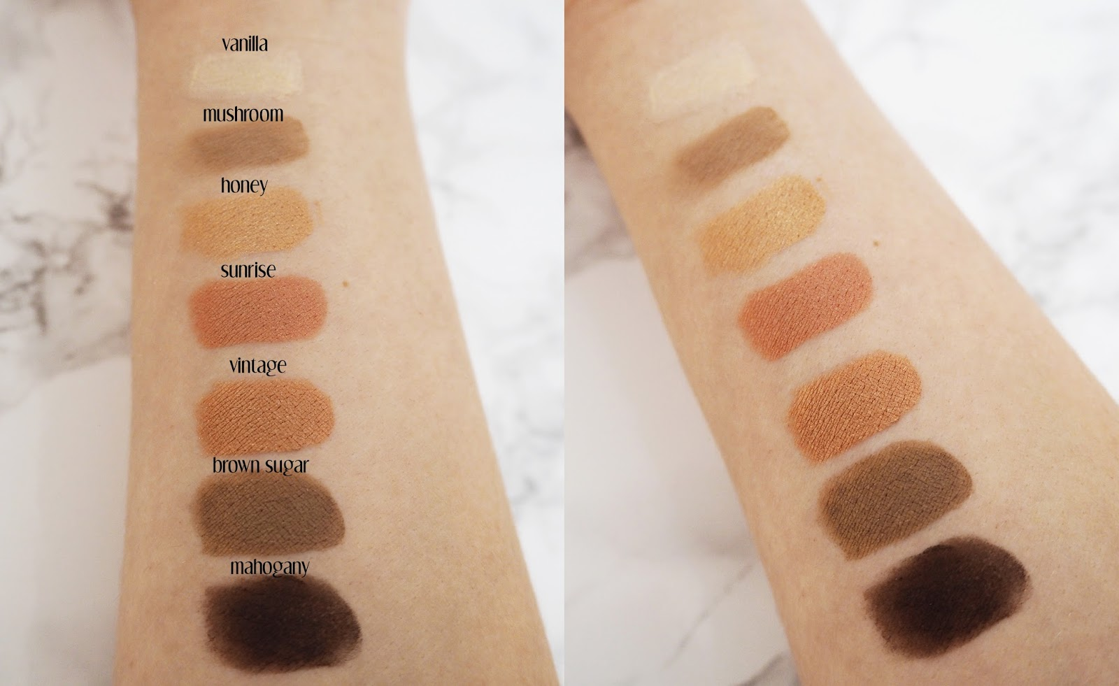 Laura Geller | The Delectables: Eye Shadow Palette ! Beauty Swatches by Katie Kirk Loves