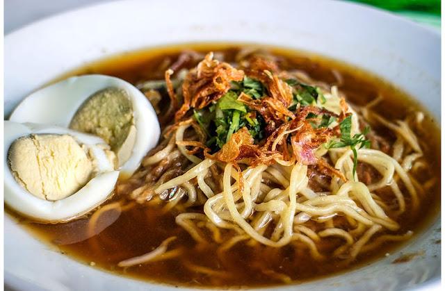 mie, masakan, makanan, kuliner, khas, indonesia, nusantara, bangka, belitung, laskar pelangi