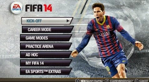 FIFA 14 PPSSPP ISO For Android