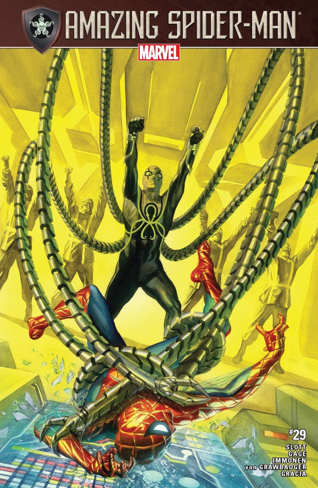 Read online The Amazing Spider-Man (2015) comic -  Issue #29 - 1