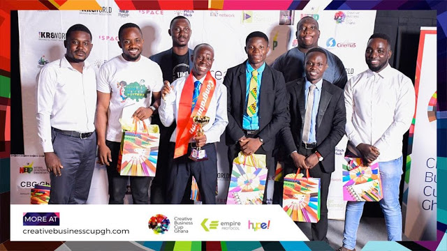 Abubakar Wins 2019 Creative Business Cup – Ghana Competition