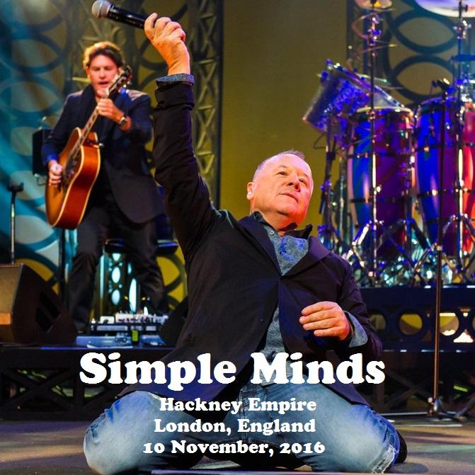 T.U.B.E.: Simple Minds - 2016-11-10 - London, UK (FM/FLAC)