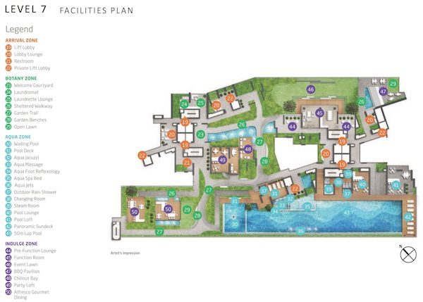 Queens Peak Site Plan