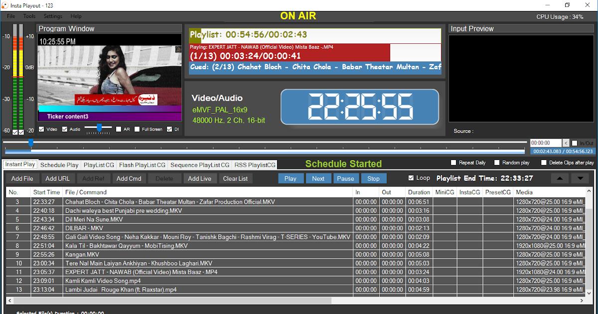 Insta Playout version 4 0 latest update | PRIME NEPAL/NEWS/TV